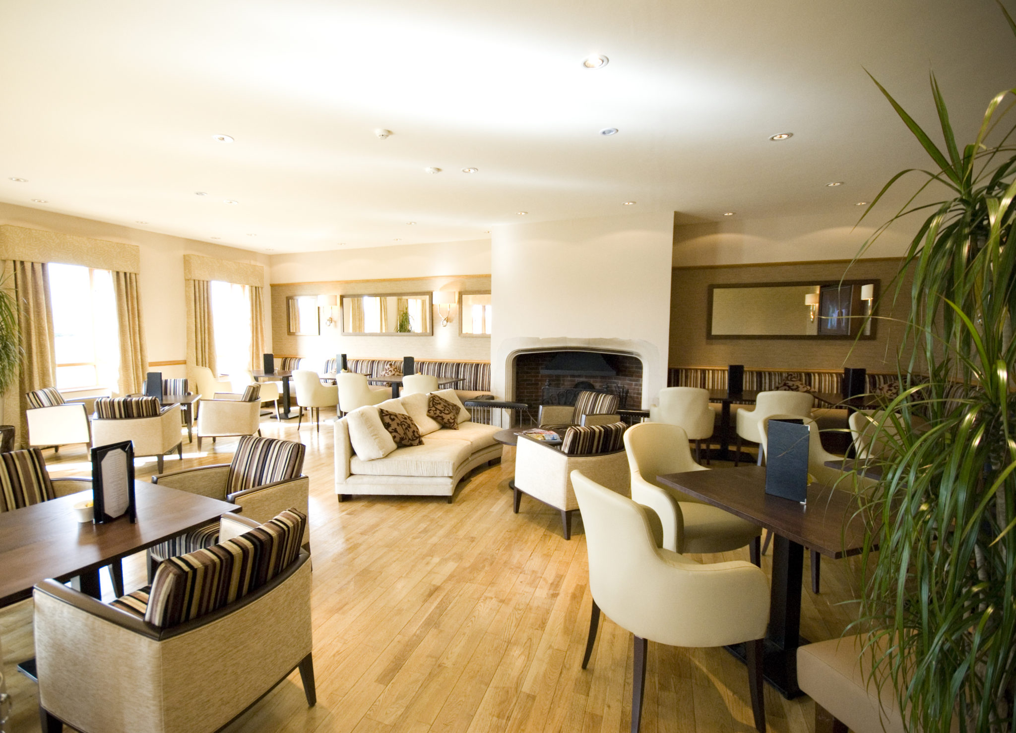 Golf Course Clubhouse Interior Design at Wisley Golf Club