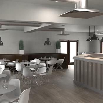 48D 48D Elevation Plan Designs For Commercial Properties Interesting 2D Interior Design Property